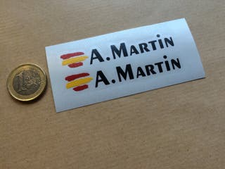 Pegatina Bandera España Y Texto Editable