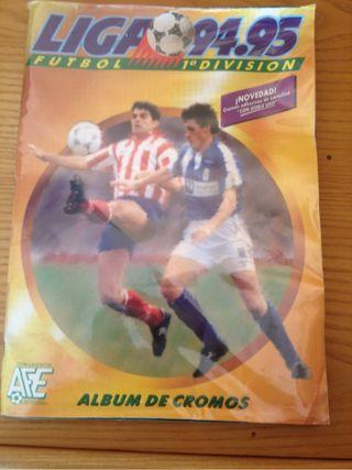 Album De Cromos Completo Liga 94-95