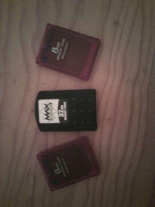 Tres tarjetas
