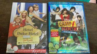 Películas Hotel Dulce Hotel, y Camp Rock
