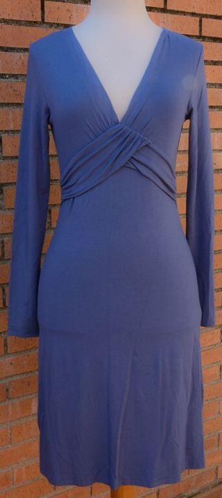 Elegante Vestido Azul Esprit Talla S/M Nuevo