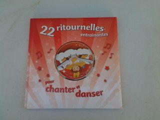 Libro de canciones en Frances con Cd