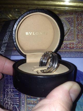 Bulgari, anillo oro blanco