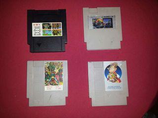 Vendo 4 juegos NES
