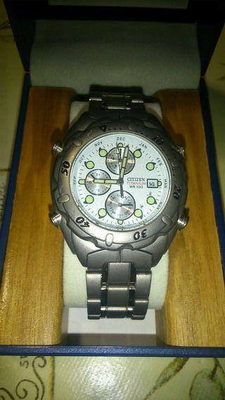 Reloj citizen TITANIO wr 100