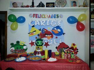 Mesas completas decoradas!!