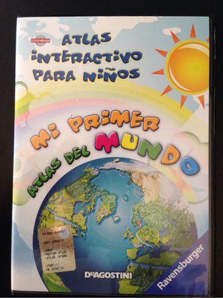 Atlas Interactivo Para Niños CD-ROM