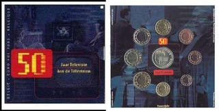 SET DE EUROS DE BELGICA 2003