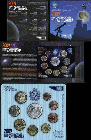 SET DE EUROS DE SAN MARINO 2009