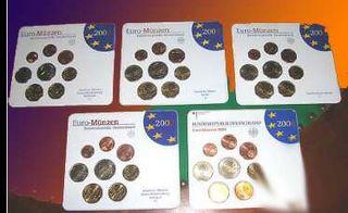 SET DE EUROS DE ALEMANIA 2003