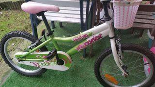"""Bicicleta infantil 18"""""""