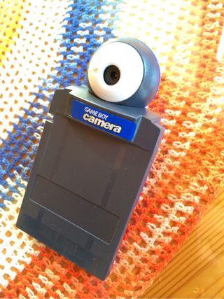 Game Boy Camera de color azul