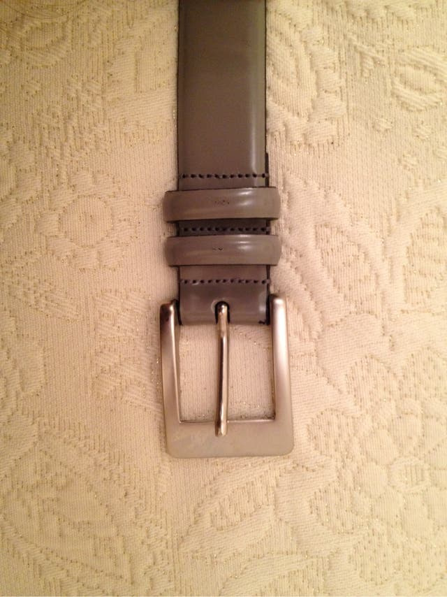 Cinturón gris De El Corte Inglés