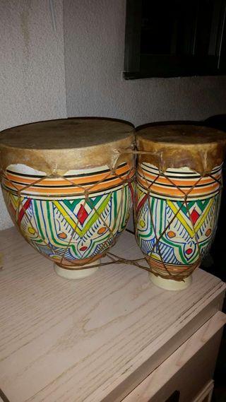 Bongos o tambores