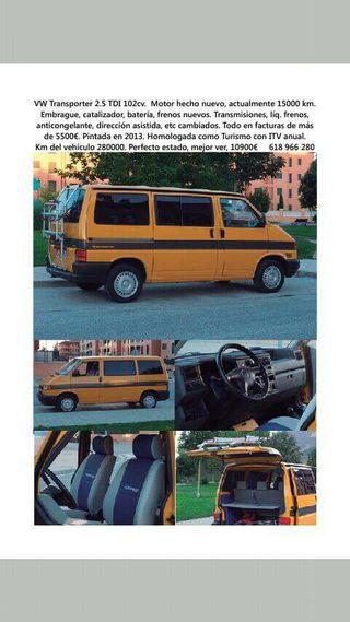 VW Transporter T4 2.5 tdi 102 cv