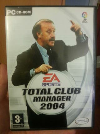 Juego PC Total Club Manager 2004