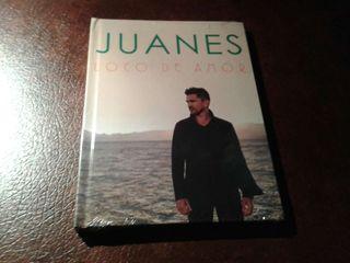 Libro Cd Juanes loco de Amor