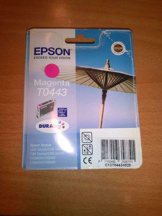 Cartucho tinta Epson Magenta T0443