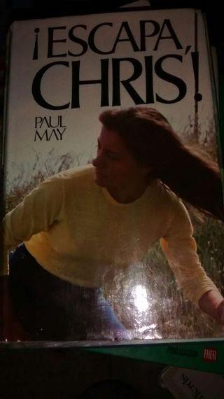 Libro Escapa chris