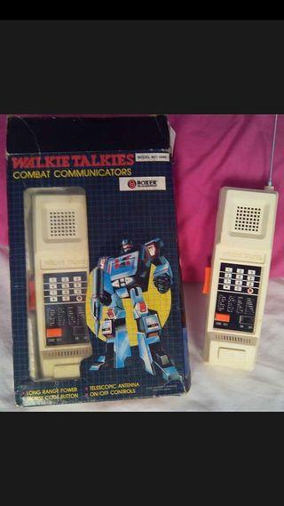 """""""""""Walkie-Talkie"""""""" vintage años 80"""