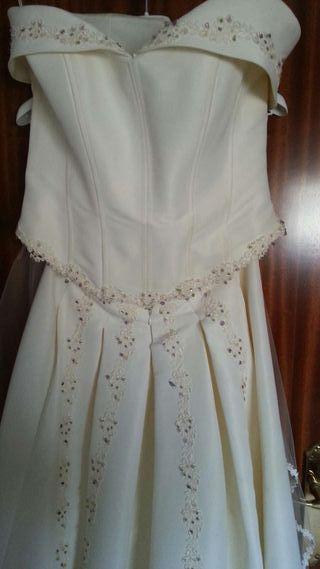 Vestido novia Novia DArt