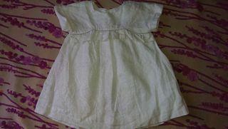 Robe blanche argent Zara ideal ceremonie