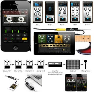 irig para iphone ipad ipod apple guitarra amplitube namaup