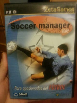 Juego PC Soccer Manager 2002