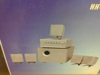 Altavoces 5.1 channel theatre system