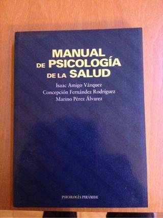 Libro Psicologia: Manual de psicologia de la salut.