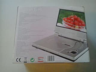 Reproductor DVD portátil Hoher PDV2038