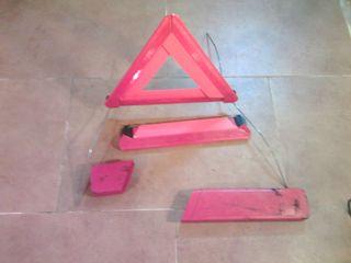 Juego triángulos para el coche