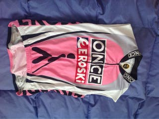 Maillot Ciclismo Once Chica Xg