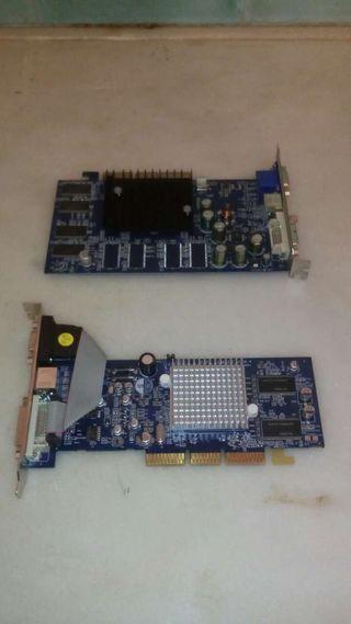 Tarjetas Video VGA y DVI