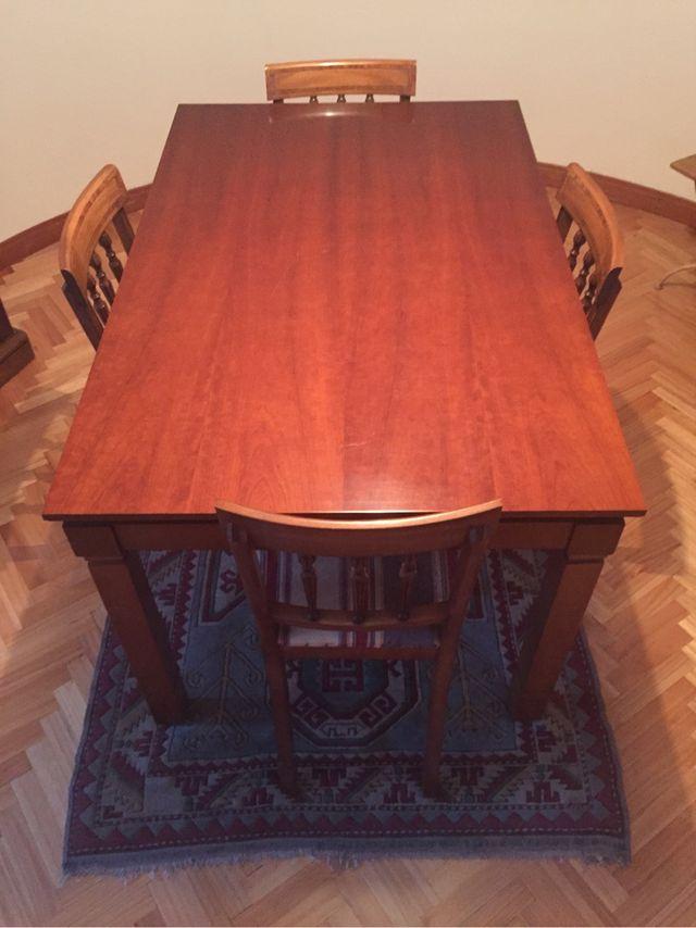 Mesa de comedor de segunda mano por 125 en santander en wallapop - Wallapop mesa comedor ...