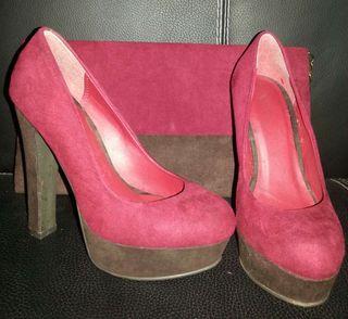 Zapato y bolso de mano de Marypaz