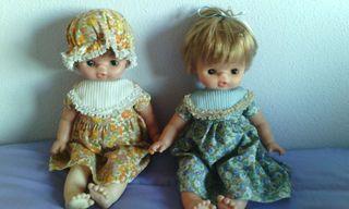 2 muñecas Famosa de finales de los 70