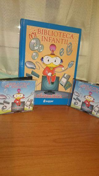 Curso informática infantil con CDs