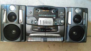 Radiocassette doble pletina