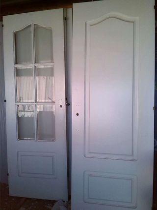 Puertas de madera lacadas de segunda mano en wallapop for Puertas de madera exterior de segunda mano