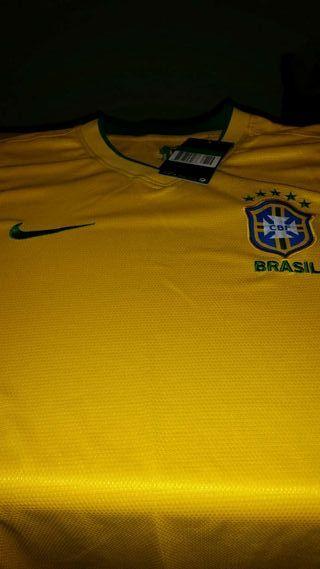 Camiseta de la selección de brasil