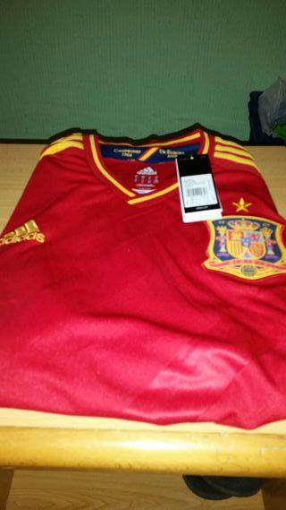 Camiseta de la selección española