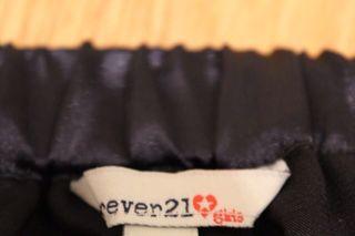 Falda Negra Forever 21