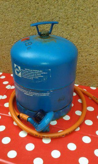 Botella de camping gas con el regulador de segunda mano - Botella camping gas ...