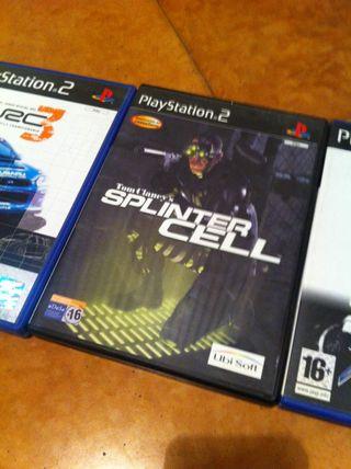 Splinter Cell Juego Ps2