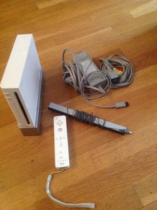 Wii Con Un Mando - Blanca