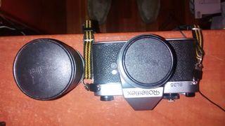 Camara de fotos reflex de coleccion