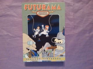 Futurama. Pack dvd segunda temporada.