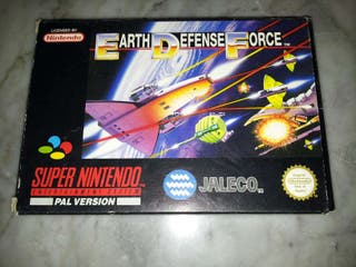 Earth Defence Force SNES