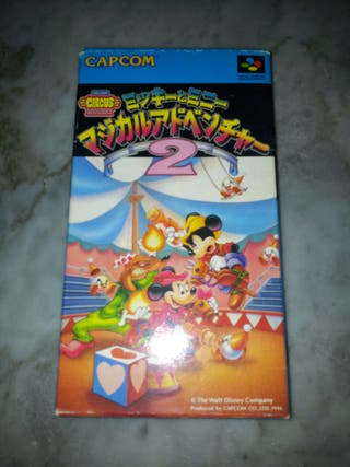 Magical Quest 2 The Great Circus Mystery SNES